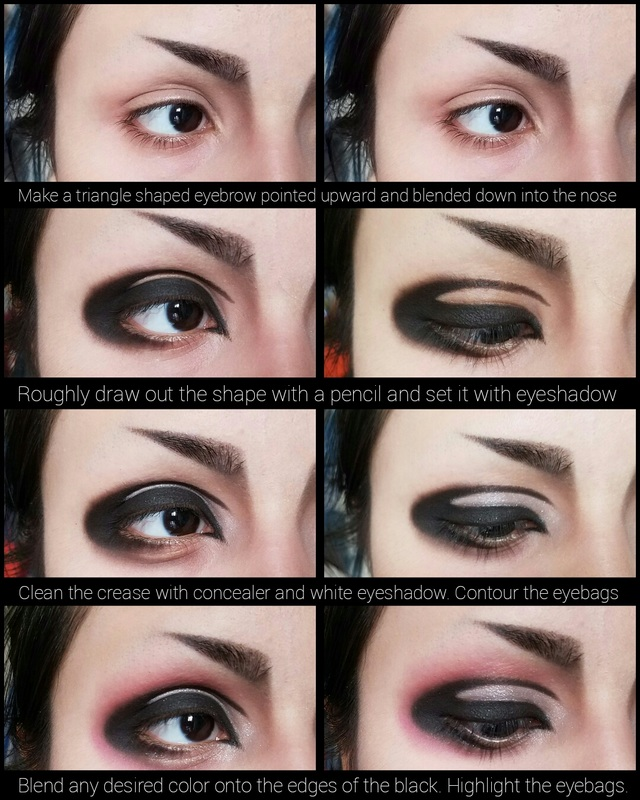 Visual Kei Inspired Daily Makeup 3 A To J Connections